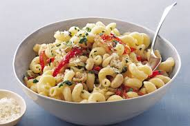 White Beans with Rotini and Golden Onions